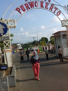 Setelah beram-jam perjalanan yeay akhirnya sampai di Purwokerto