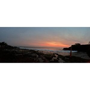 Sunset di Tanah Lot, Bali