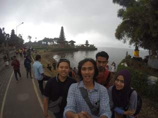 Ricko, Richel, Made, Zhafira Nadiah di Bedugul, Bali