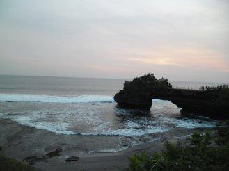 Dari Bedugul langsung cuss ke Tanah Lot, Bali untuk nikmatin Sunset disana.