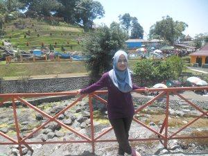 Zhafira Nadiah di Batu Raden, Purwokerto