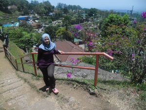 Siang di Baturaden, Purwokerto