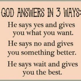 god answer